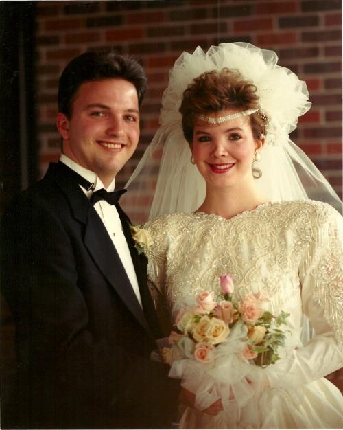 Family History Jeff & Mary Wedding Day 1989